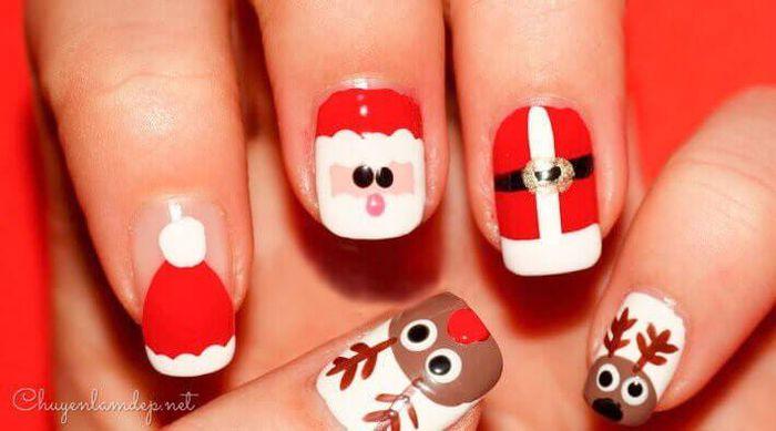 Gợi ý loạt mẫu nail Noel cực xinh cho chị em đi chơi - Hình 3