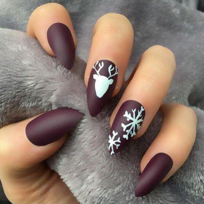 Gợi ý loạt mẫu nail Noel cực xinh cho chị em đi chơi - Hình 10
