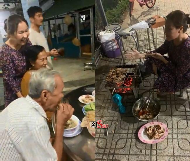 Cô dâu 7X của Quý Bình gây bất ngờ với hình ảnh về quê thăm bố mẹ chồng - Hình 5