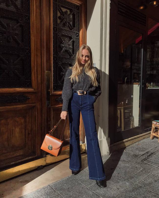Xem gái Tây diện quần jeans mà thấy được mở mang tầm mắt: 13 cách mặc siêu thanh lịch, xịn đẹp và tôn dáng tối đa - Hình 2