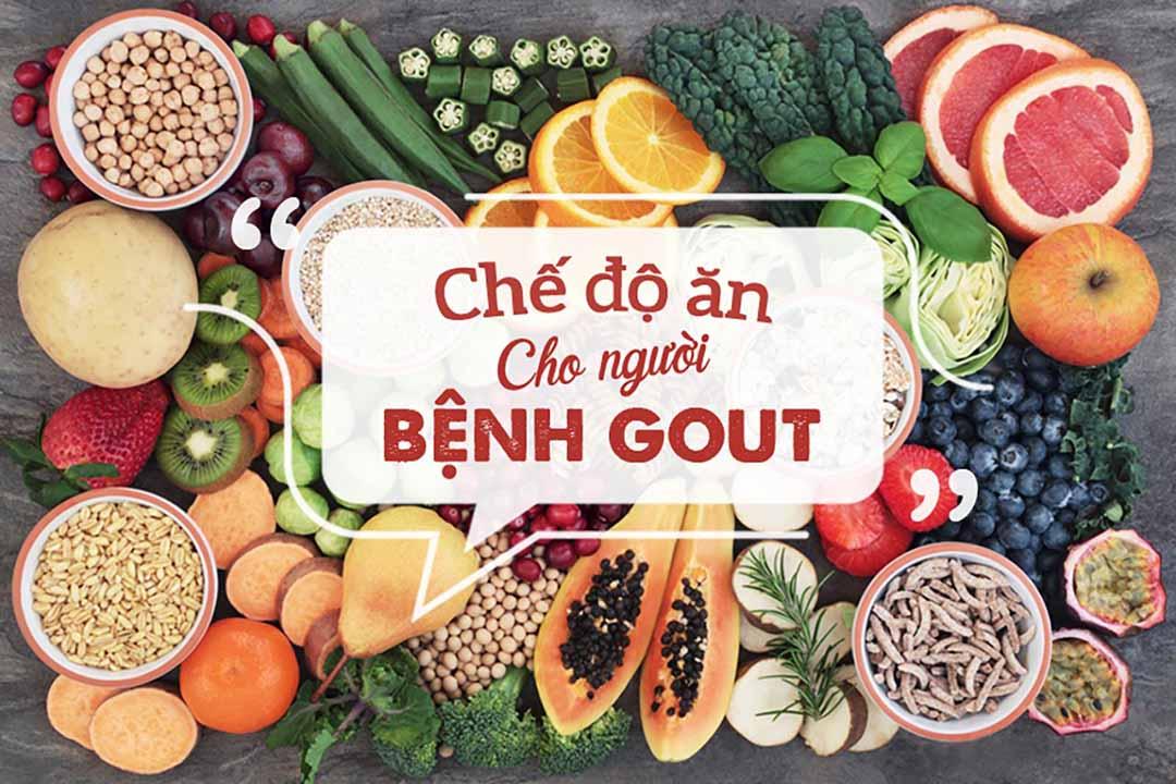 Chế độ ăn cho người bị bệnh gout - Hình 1