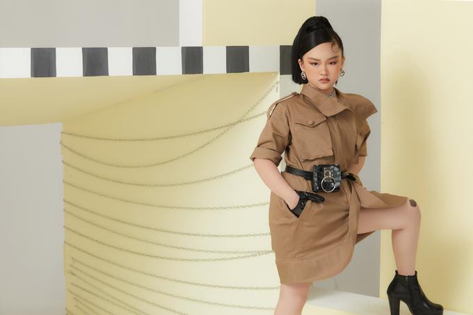 Trang phục thu đông của NTK Thanh Huỳnh - Hình 5