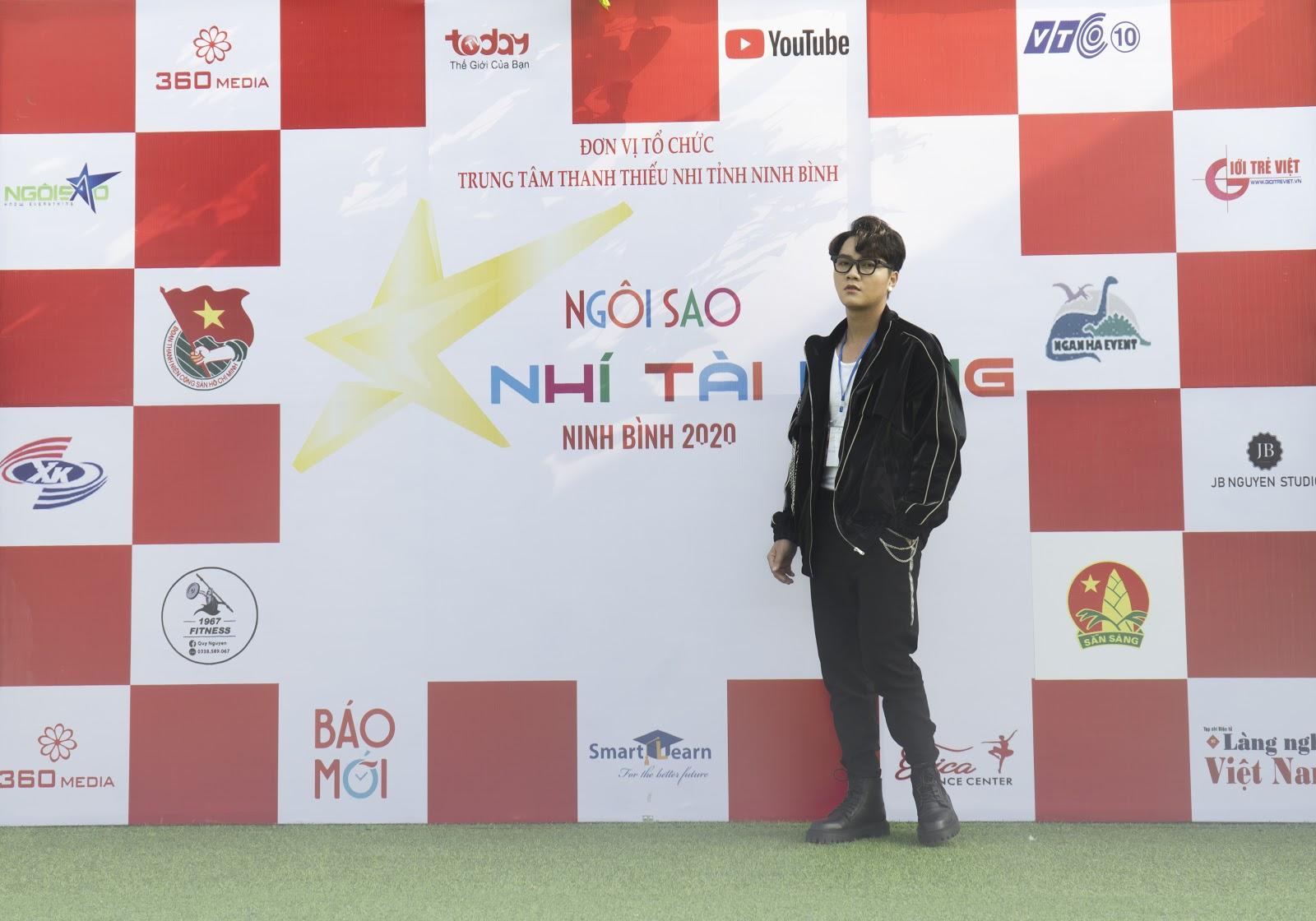 Ca nhạc sĩ An Nam đảm nhận vai trò mới ban huấn luyện của cuộc thi Ngôi Sao Nhí Tài Năng Ninh Bình 2020