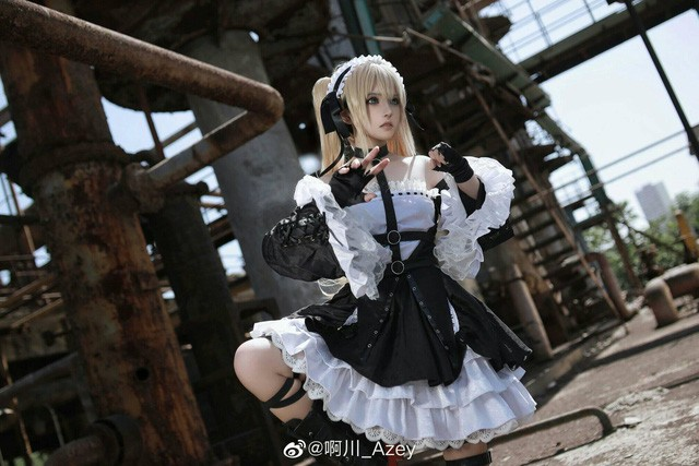 See the cutest maid in Dead or Alive's world and only wish to be the