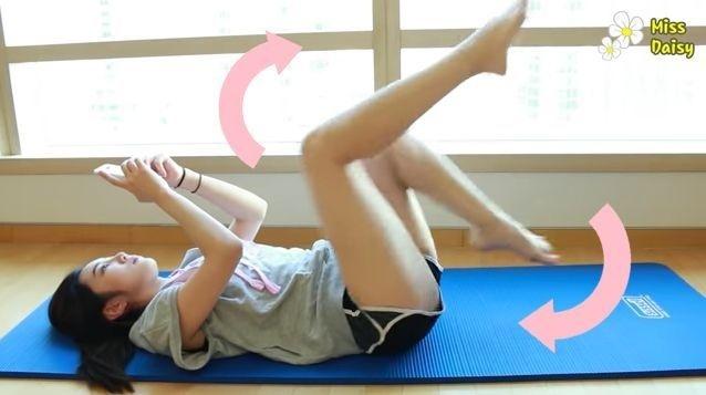5 bài tập cực dễ giúp nàng hot girl Hàn chỉ ở nhà cũng giảm được 10kg trong 3 tháng - Hình 5