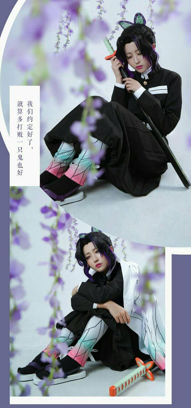 Ngắm Trùng Trụ trong Kimetsu no Yaiba đẹp thoát tục tựa tiên nữ mà chép miệng hồng nhan bạc phận - Hình 7