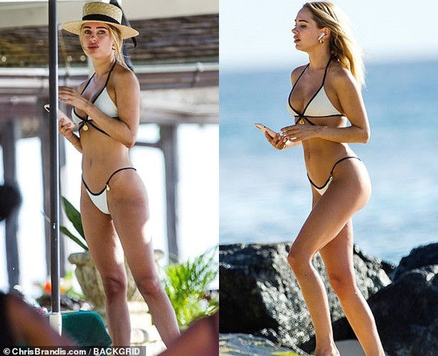Kimberley Garner mặc bikini gợi cảm khó rời mắt - Hình 4