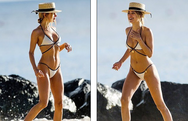 Kimberley Garner mặc bikini gợi cảm khó rời mắt - Hình 5
