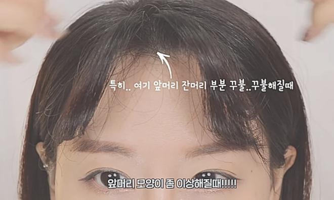 Dù phần mái hết sức chán đời, blogger Hàn vẫn có cách tạo kiểu mái thưa đẹp tự nhiên giống Suzy - Hình 5