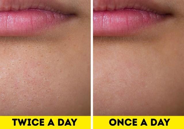 Điều gì sẽ xảy ra nếu bạn chỉ rửa mặt mỗi ngày một lần? - Hình 1