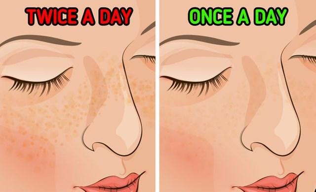 Điều gì sẽ xảy ra nếu bạn chỉ rửa mặt mỗi ngày một lần? - Hình 5
