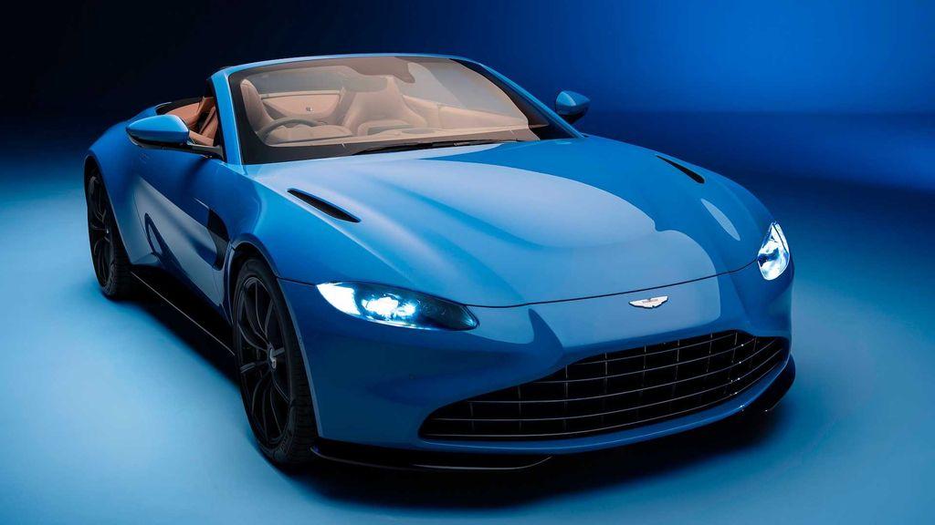 Aston Martin Vantage Roadster 2021 chính xác là chiếc xe mui trần nhanh nhất thế giới - Hình 1