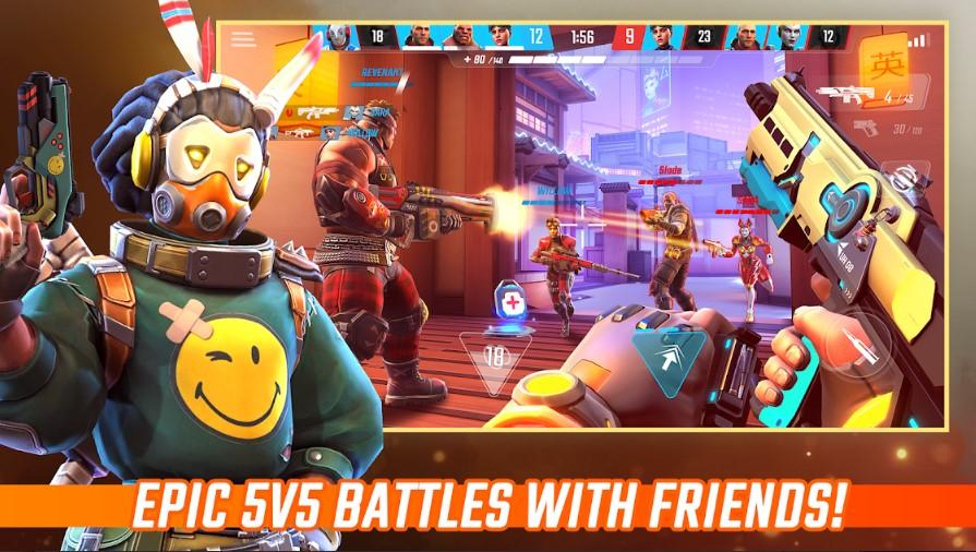 Siêu phẩm FPS 5v5 Shadowgun War Games chính thức có mặt trên store - Hình 1