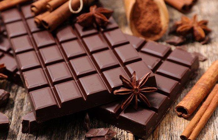 Chocolate không chỉ ngọt ngào vào Valentine, các nàng còn có thể làm mặt nạ dưỡng nhan - Hình 1
