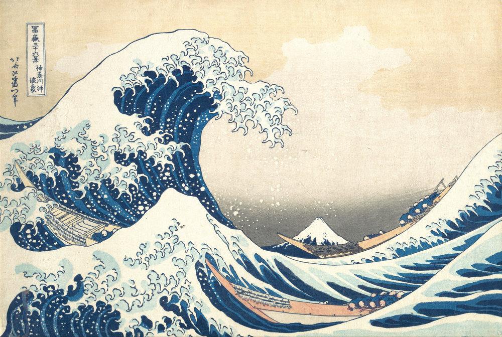 Cuộc sống sinh động trên tranh của danh họa Nhật - Hình 1
