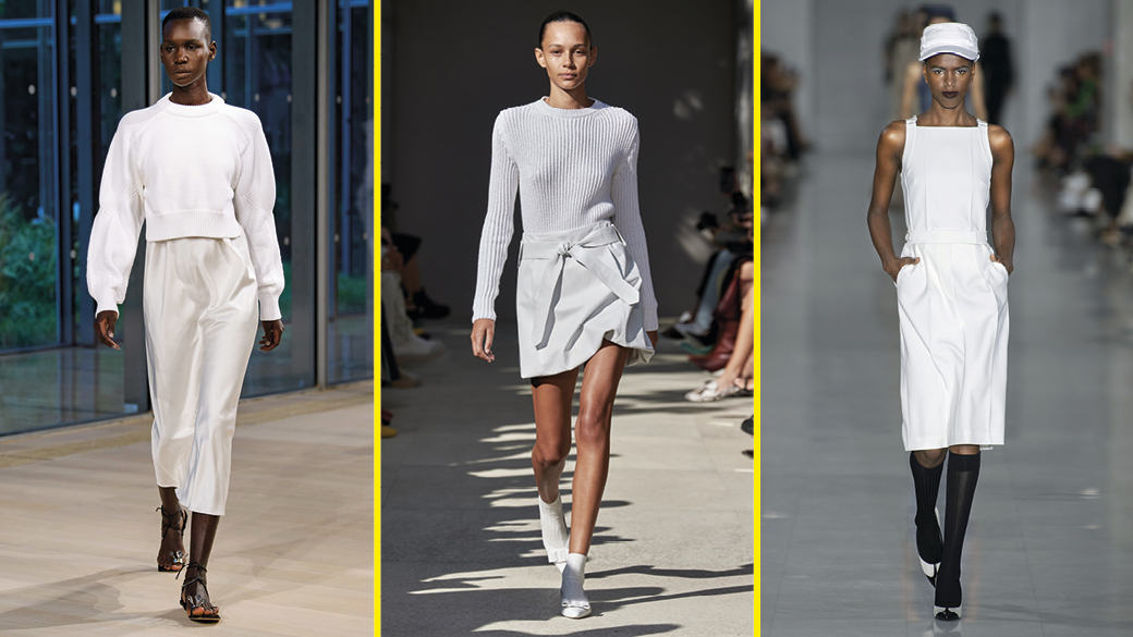 Dép La Mã, trắng cả cây: 10 xu hướng thời trang hay nhất mùa xuân 2020 - Hình 1