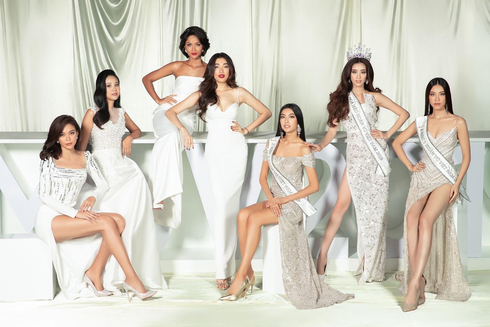 H'Hen Niê, Thúy Vân gây sốt khi đọ sắc với các người đẹp Hoa hậu Hoàn vũ Việt Nam trong một bộ ảnh đặc biệt nhân ngày Valentine - Hình 1