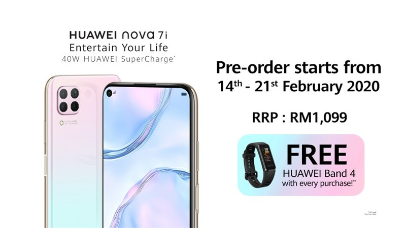Huawei Nova 7i ra mắt: Màn hình 6.4 inch, chip Kirin 810, pin 4.200 mAh, giá 6.1 triệu đồng - Hình 1