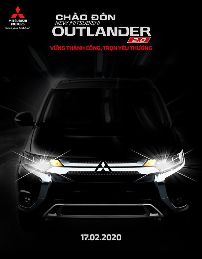 Mitsubishi chốt ngày ra mắt dòng xe Outlander 2020 tại Việt Nam - Hình 1