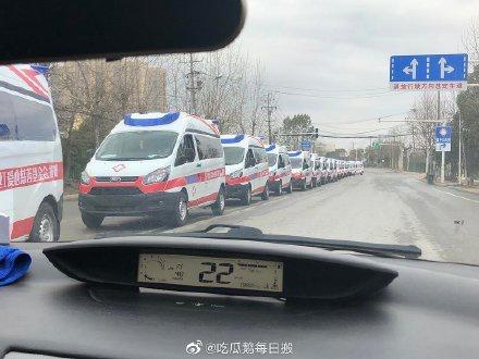 Đoàn xe cứu thương từ thiện của nghệ sĩ cập bến Vũ Hán - Hình 1