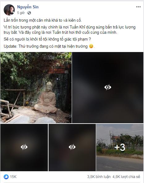 Nguyễn Sin tiết lộ hiện trường nơi Tuấn khỉ lẩn trốn và trút hơi thở cuối cùng: Biệt thự to, kiên cố - Hình 1