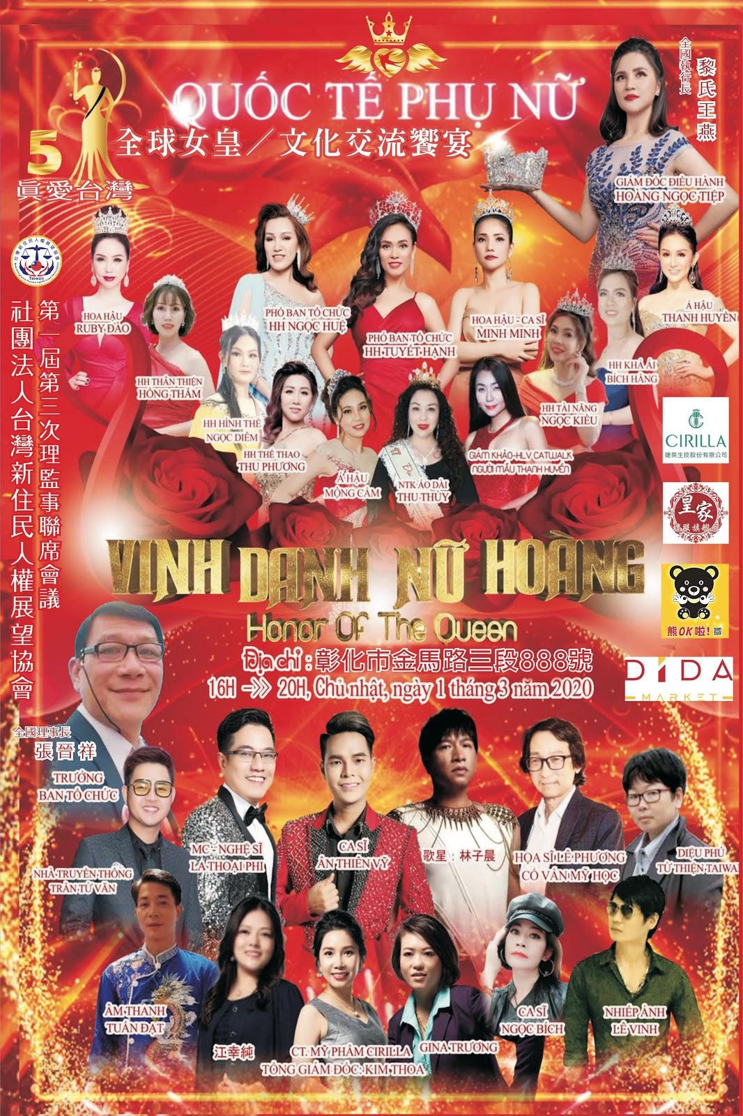Dàn mỹ nhân hội tụ trong đêm Vinh danh Nữ hoàng - Hình 1