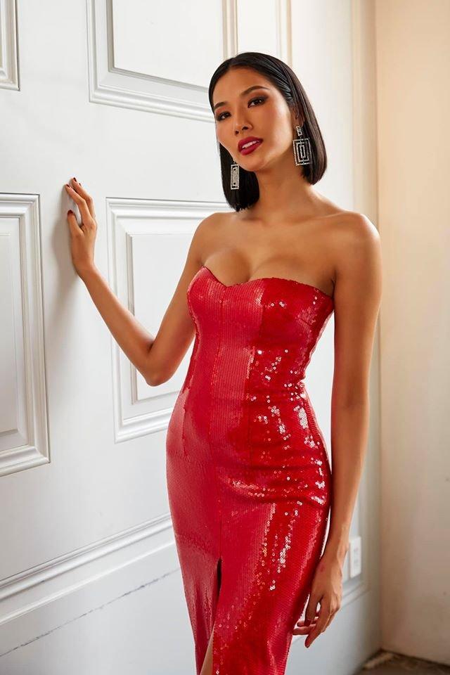 Trước thềm khai chiến, Hoài Sa chơi lớn khi đụng độ Hoàng Thùy hai chiếc váy hụt ở Miss Universe - Hình 3