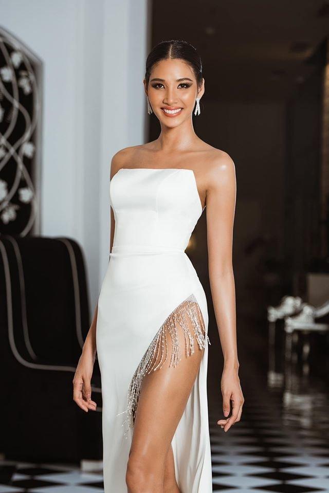 Trước thềm khai chiến, Hoài Sa chơi lớn khi đụng độ Hoàng Thùy hai chiếc váy hụt ở Miss Universe - Hình 9