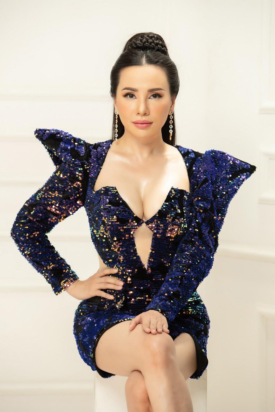 Hoa hậu Châu Ngọc Bích trở lại đầy mới mẻ với vị trí Giám khảo Vietnam Golf Queen 2020 - Hình 3