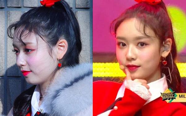 Sao Hàn lên sân khấu trông sương sương nhưng makeup cả tạ phấn - Hình 3