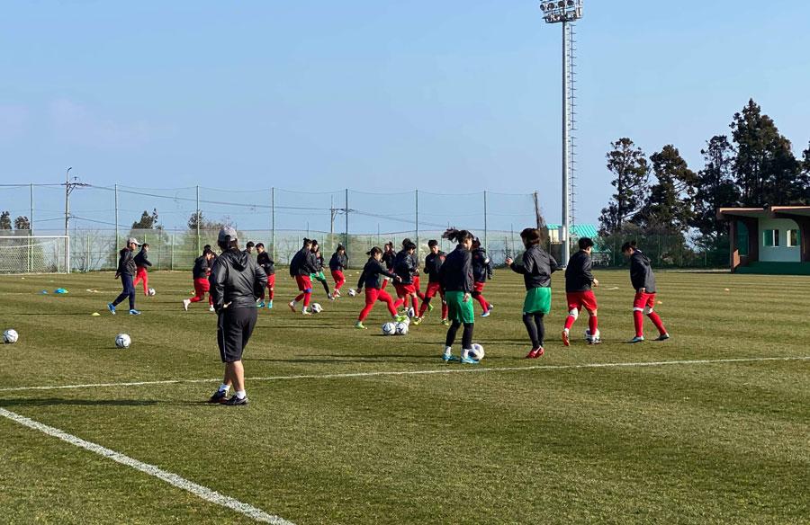 Bóng đá nữ:Tập trung vào trận đấu quan trọng - Hình 1