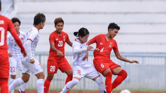 Đội tuyển nữ Việt Nam - Myanmar: Thắng để giành quyền đi tiếp - Hình 1