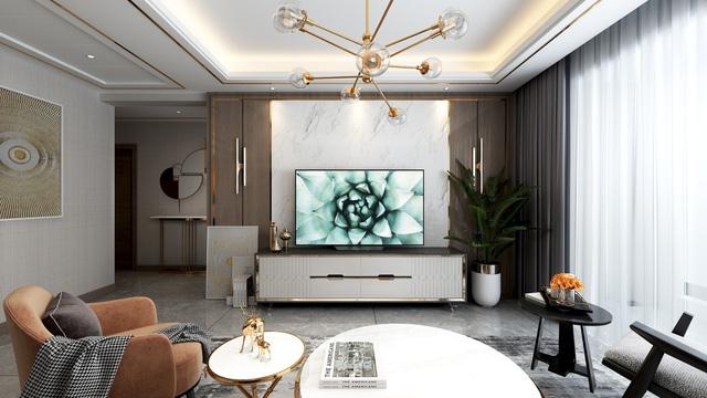 Top 3 phòng khách tiện nghi khoe TV OLED của dân chơi công nghệ - Hình 1