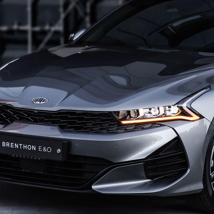 Kia Optima mới được thay logo Brenthon tại Hàn Quốc - Hình 1