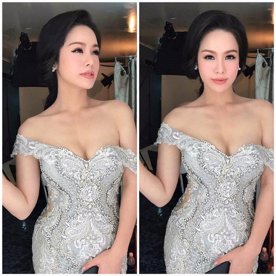 Vòng một đẹp tự nhiên, Nhật Kim Anh mặc gì cũng gợi cảm - Hình 18