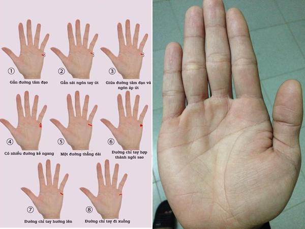 Cực chuẩn xác: Cách tự xem đường chỉ tay để biết trước vận mệnh hôn nhân, tình duyên - Hình 1