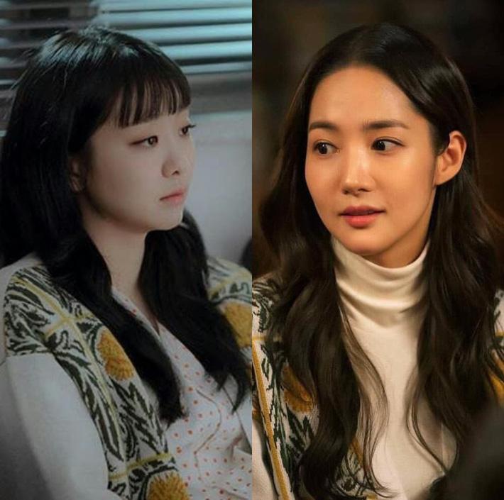 Style tuột dốc nhưng Park Min Young vẫn khá khẩm hơn Kim Da Mi khi đụng hàng, riêng Son Ye Jin mới là trùm cuối mặc đẹp - Hình 5