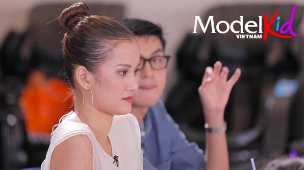Mâu Thủy ôm trọn drama tập 4 Model Kid: Bỏ về, đi trễ, tranh cãi với Quang Đại & Hương Ly khi loại thí sinh - Hình 1
