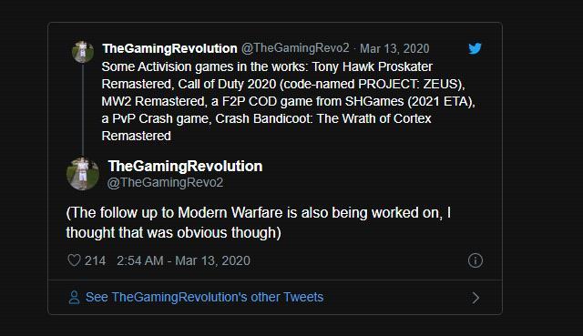 4 tựa game Call of Duty đồng loạt ra mắt trong thời gian tới - Hình 1