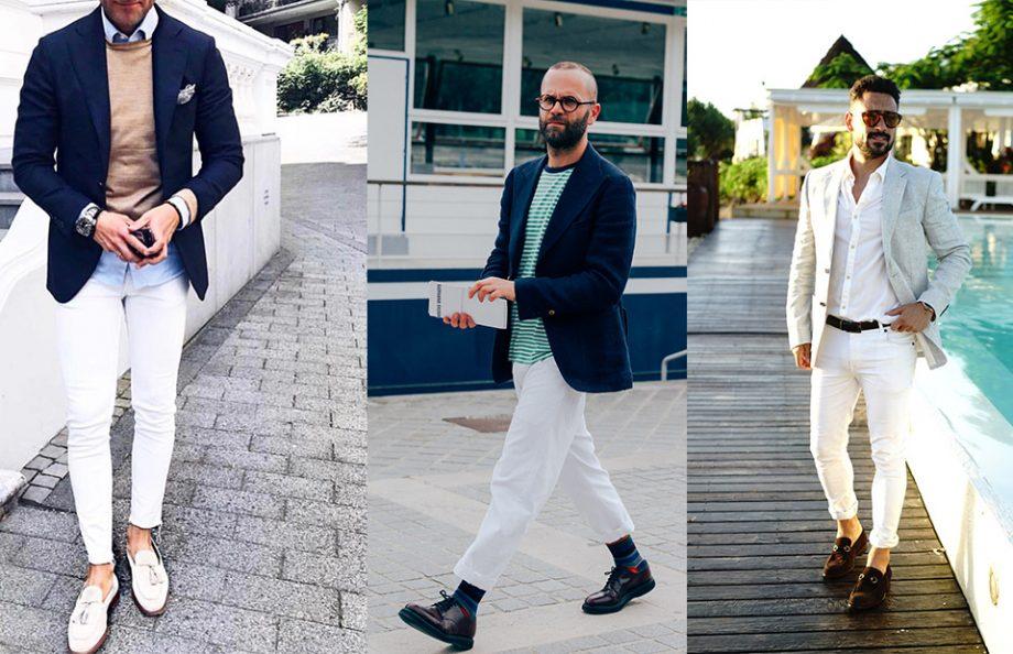 Cách mặc jean trắng nam tính và sành điệu - Hình 2
