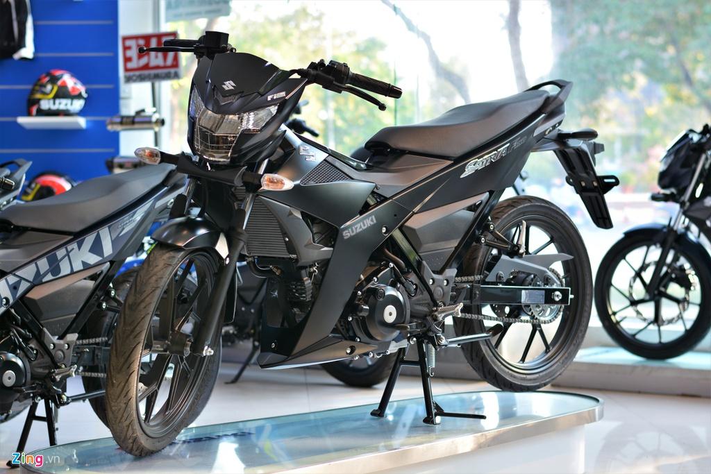 Chi tiết Suzuki Satria F150 chính hãng tại VN giá 52 triệu - Hình 1