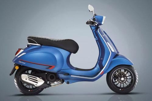 Xe ga Vespa 50 phân khối, giá cao hơn Honda SH - Hình 1