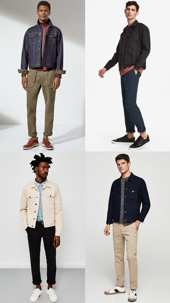 9 cách mặc đẹp áo khoác denim dành cho nam giới - Hình 1