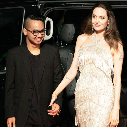 Con trai cả Jolie về Mỹ vì dịch - Hình 1