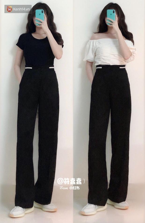 Dáng thẳng đuột khi diện skinny jeans, cô nàng đã được khai sáng khi tìm ra 8 chiếc quần âu tôn dáng mà thanh lịch hết sức - Hình 2