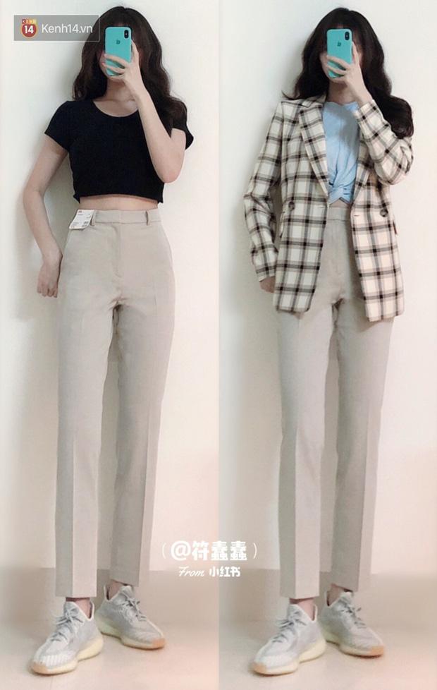 Dáng thẳng đuột khi diện skinny jeans, cô nàng đã được khai sáng khi tìm ra 8 chiếc quần âu tôn dáng mà thanh lịch hết sức - Hình 5