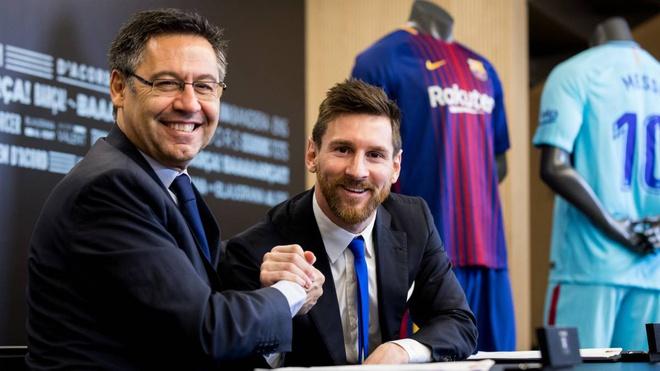 Messi ra điều kiện để tiếp tục gắn bó với Barca - Hình 1
