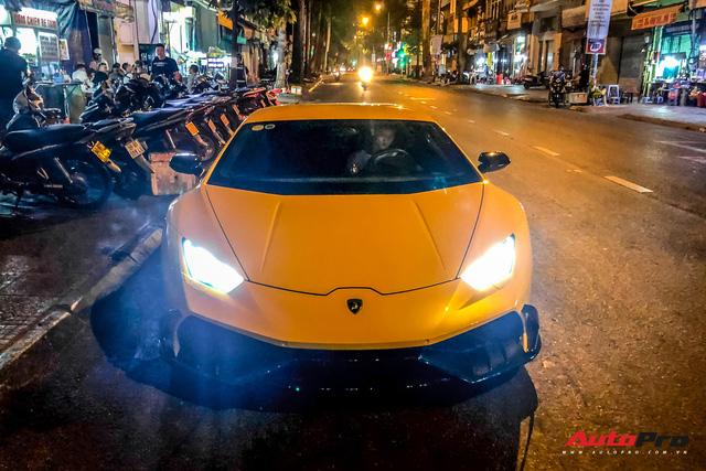 Tiếp tục đổi chủ, Lamborghini Huracan từng của doanh nhân Nguyễn Quốc Cường trở về màu sơn nguyên bản - Hình 1