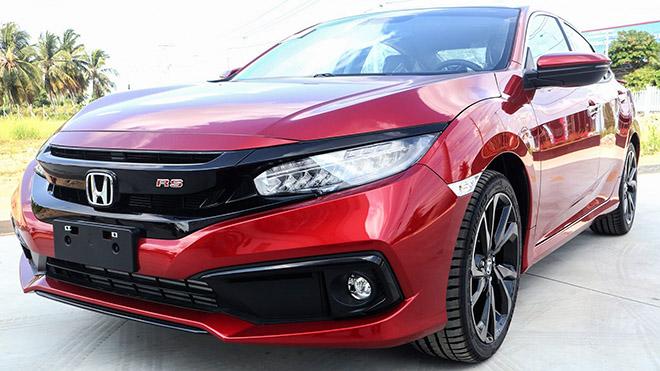 Xem trước màu sơn mới Honda Civic RS 2020 tại đại lý - Hình 1
