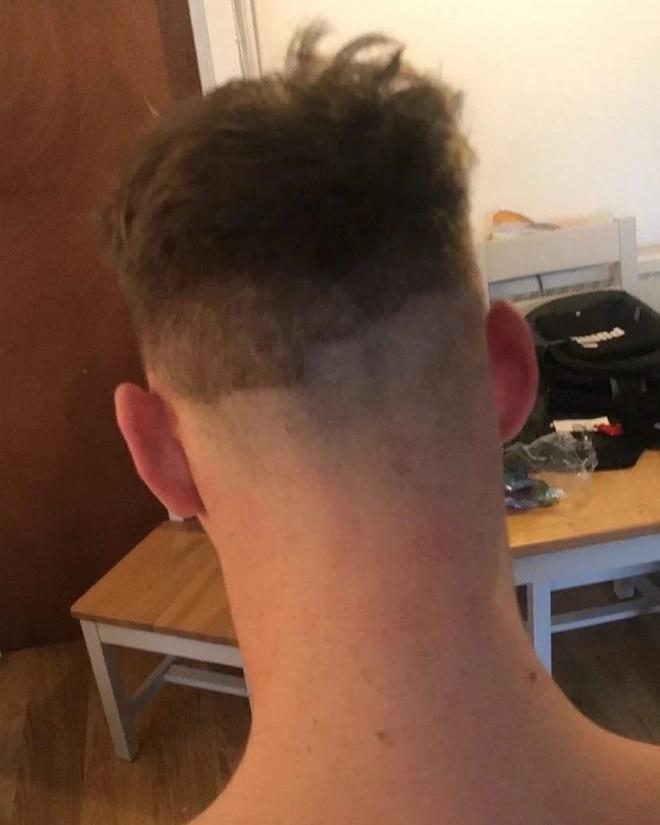 Tự cắt tóc khi cách ly ở nhà và cái kết - Hình 7
